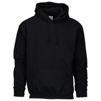 Gildan Team 50/50 Fleece Hoodie - Men's - All Black / Black