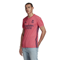 adidas Soccer Replica Jersey - Men's - Real Madrid - Pink