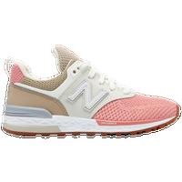 new balance 574 tan pink