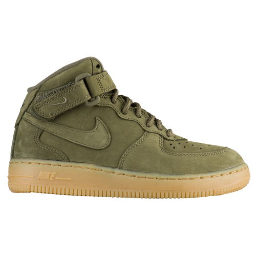 olive green nike air force 1 high top infant