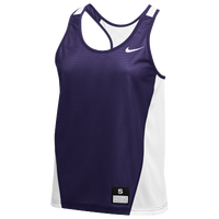 Nike Team Reversible Mesh Tank Pinnie - Women's - Purple / White