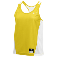 Nike Team Reversible Mesh Tank Pinnie - Women's - Yellow / White