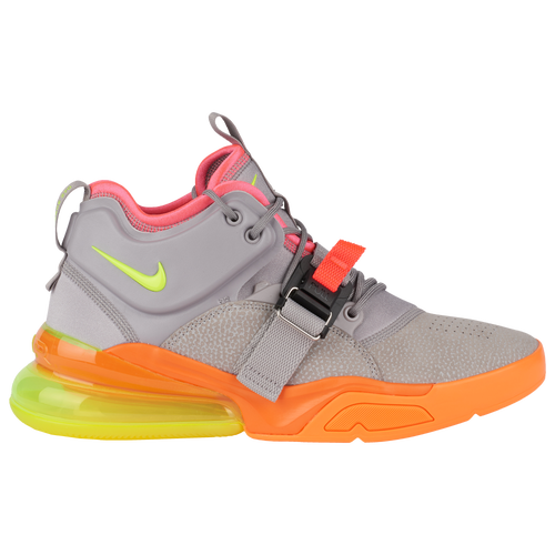 8fdd119f80 Nike Air Force 270 - Men's - Casual - Shoes - Atmosphere Grey/Volt ...