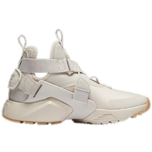 Nike Air Huarache City - Women's - Casual - Shoes - Desert Sand/Desert Sand/ White/Gum Light Brown