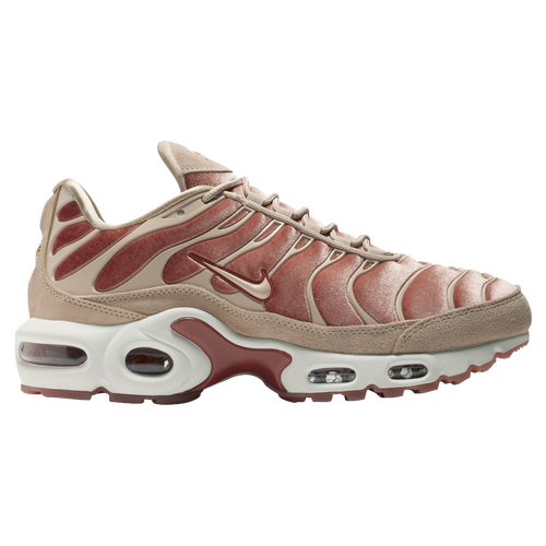 b05a301386106e ... Nike Air Max Plus LX Velvet - Womens - Casual - Shoes - Dusty PeachBio  BeigeSummit ...