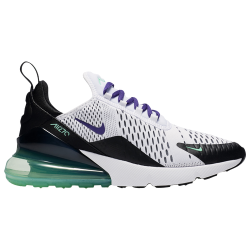 bf2cff9c19e9 Nike Air Max 270 - Women s - Casual - Shoes - White Court Purple Menta Black