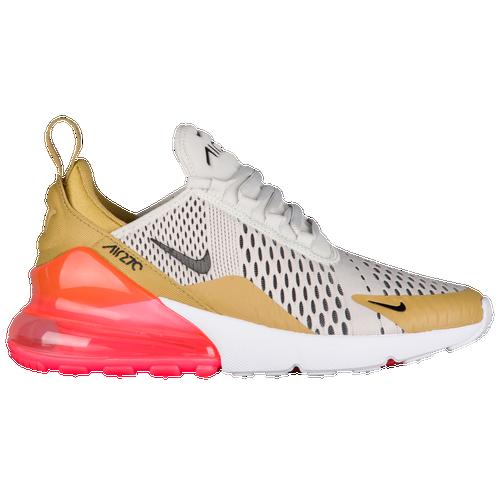 8895cd53ca90 Nike Air Max 270 - Women s - Casual - Shoes - Ftl Gold Black Lt  Bone White Hot Punch