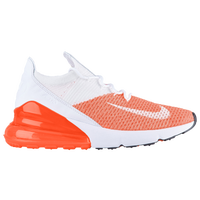 super popular 6455b e95c5 Nike Air Max 270 Flyknit - Women s - White   Orange