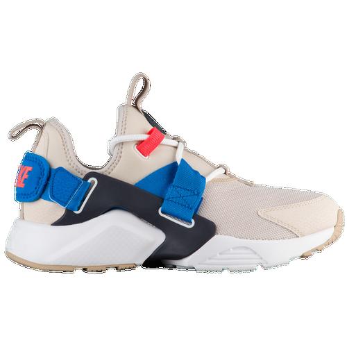 Nike Air Huarache City Low - Women's - Casual - Shoes - Desert Sand/White/Dk  Obsidian/Blue Nebula