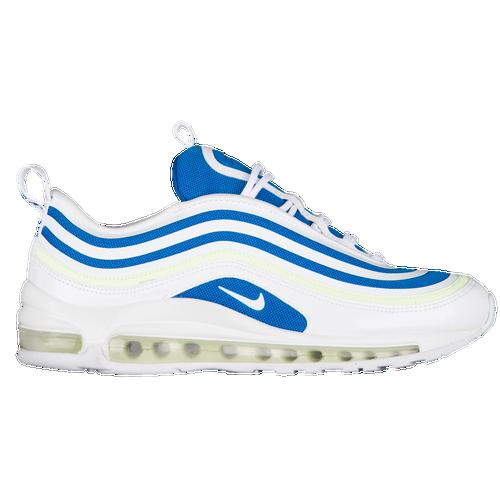 Nike Air Max 97 Ultra - Women's White/White/Blue Nebula/Barely Volt H6806101
