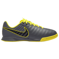 Nike Tiempo LegendX 7 Academy IC - Boys' Grade School - Grey / Yellow