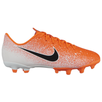 Nike Mercurial Vapor 12 Academy MG - Boys' Grade School - Orange / White