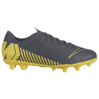 Nike Mercurial Vapor 12 Club MG - Boys' Grade School - Grey / Yellow