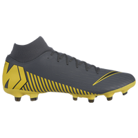 Nike Mercurial Superfly 6 Academy MG - Men's - Grey / Yellow