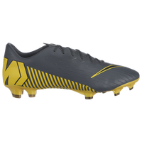 Nike Mercurial Vapor 12 Pro FG - Men's - Grey / Yellow