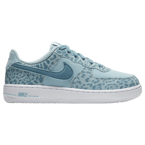 b05cb60f44 Nike Air Force 1 Low - Girls' Preschool - Nike - Casual - Summit White/Met  Red Bronze/Summit White