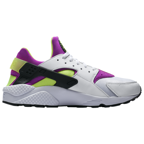official photos 092a0 cb3b6 Nike Air Huarache - Mens - Casual - Shoes - WhiteBlackNeon YellowMagenta