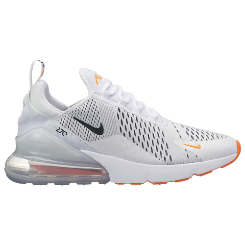 cf94e0dd95 Nike Air Max 270 - Men's - Casual - Shoes - White/Black/Total Orange