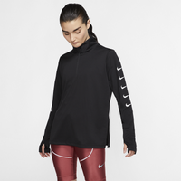 Nike Swoosh Run Top - Women's - Black