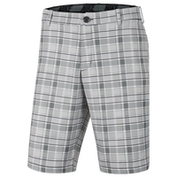 Nike Plaid Core Golf Shorts - Men's - Black