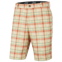 Nike Plaid Core Golf Shorts - Men's - Yellow
