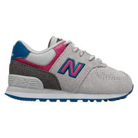 New Balance 574 Classic - Girls' Toddler - Grey