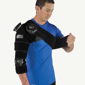 Ice20 Combo Arm Ice Compression Wrap - Black