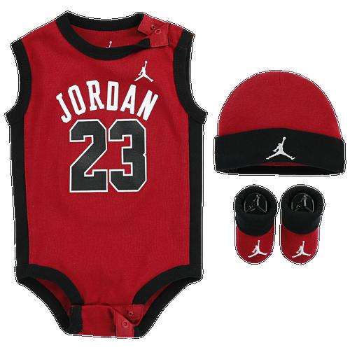 Jordan 23 Jersey Hat Bodysuit Bootie 3 Piece Set - Boys