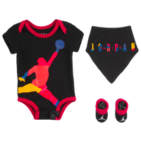 Jordan Rivals Oversized Jumpman 3 Piece Set - Boys' Infant - Black