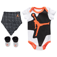 Jordan Retro 6 Bib Bodysuit Bootie 3 Piece Set - Boys' Infant - White / Black
