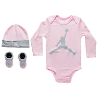 Jordan Jumpman 3 Piece Set - Girls' Infant - Pink