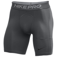 Nike Team Pro Shorts - Men's - Grey / Grey