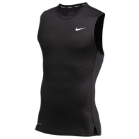 Nike Team Pro S/L Compression Top - Men's - Black / Black