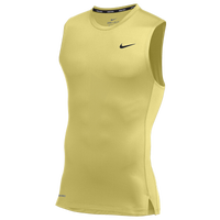 Nike Team Pro S/L Compression Top - Men's - Gold