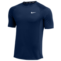 Nike Team Pro S/S Fitted Top - Men's - Navy
