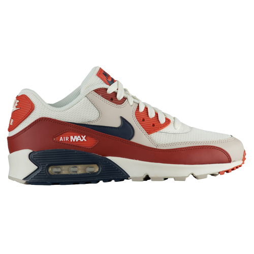 450d4b7aa9 Nike Air Max 90 - Men's - Casual - Shoes - Mars Stone/Obsidian/Vintage Coral
