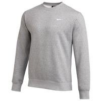 Nike Team Club Crew Fleece - Men's - Grey