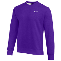 Nike Team Club Crew Fleece - Men's - Purple