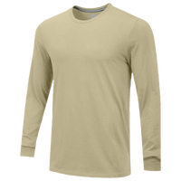 Nike Team Core L/S T-Shirt - Men's - Gold / Gold