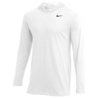 Nike Team L/S Hoodie T-Shirt - Men's - White