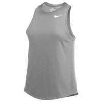 Nike Team High Neck Tank - Women's - Grey