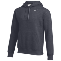 Nike Team Club Fleece Hoodie - Boys' Grade School - Grey
