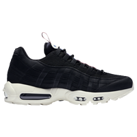 nike air max 95 black an white
