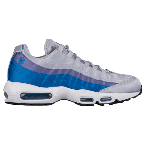 c72526ceac397 Nike Air Max 95 - Men s - Casual - Shoes - Wolf Grey Blue Nebula Purple  Slate White Black