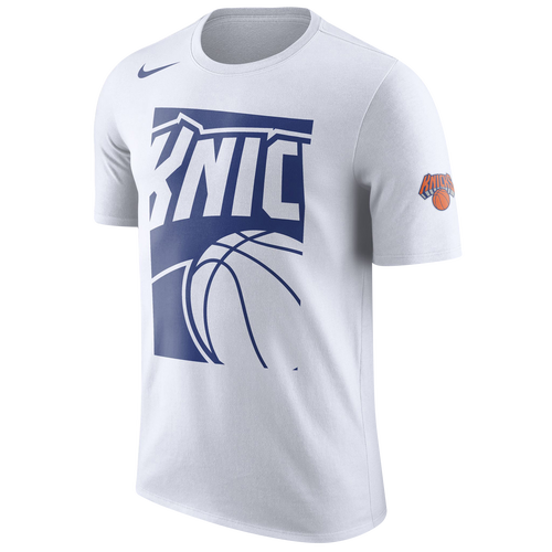 86bab763 Nike NBA Cropped Logo T-Shirt - Men's - Clothing - New York Knicks ...