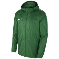 Nike Team Dry Park Jacket - Women's - Green / White