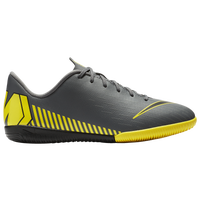 Nike Mercurial Vapor 12 Academy IC - Boys' Grade School - Grey / Yellow