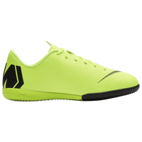 Nike Mercurial Vapor 12 Academy IC - Boys' Grade School - Light Green
