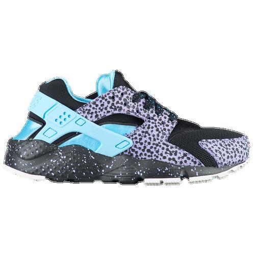 694c18c35ff29 Nike Huarache Run - Boys  Grade School - Casual - Shoes - Black Lagoon  Pulse Purple Pulse
