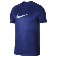 Nike Academy Short Sleeve Top - Men's - Blue